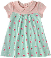 Cath Kidston Sprig Spot Baby Peter Pan Jersey Dress