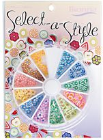 YCC Products Select A Style Flowers Nail Art Wheel