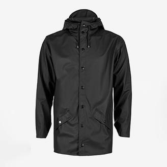 Rains Jacket Black - XXS/XS   polyester   black - Black/Black