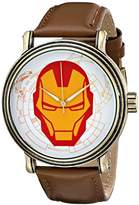 Marvel Men's W001771 The Avengers Iron Man Analog-Quartz Watch