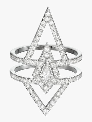 Chérut V.O.F Kite Diamond Ring