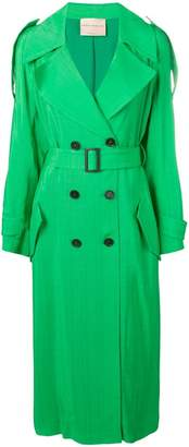 Cavallini Erika belted trench coat