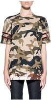 DSQUARED2 Green Camouflage T-shirt