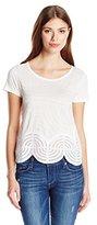 Desigual Women's Knitted T-Shirt Short Sleeve 45