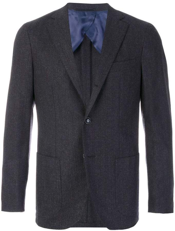 Barba classic fitted blazer