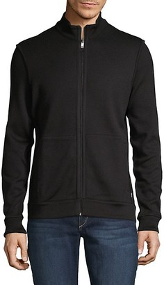 HUGO BOSS Scavo Textured Zip-Up Jacket