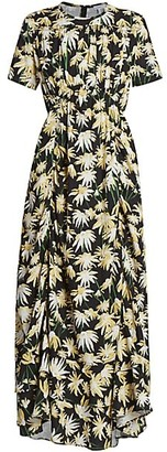 Loewe Daisy Cotton Midi Dress