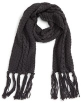 David & Young Cable Knit Scarf