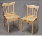 Gift Mark Ladderback Kids Desk Chair