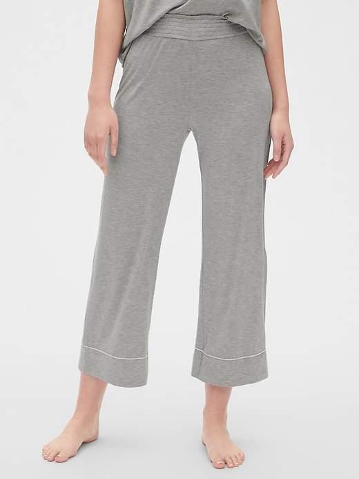 Gap Crop Flare Pants in Modal