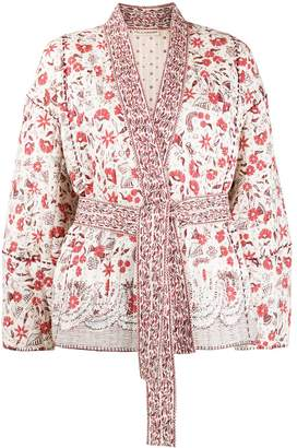 Ulla Johnson Floral-Print Quilted Jacket
