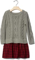 Gap Cable knit layer dress