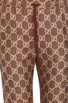 Gucci GG Supreme jogging pants