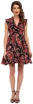 Unique Vintage Cherry Blossom Fit & Flare Dress