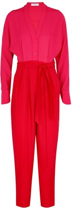 Equipment Zephrina red and pink jumpsuit