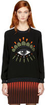 Kenzo Black Crepe Eye Sweatshirt