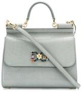 Dolce & Gabbana Dolce E Gabbana Women's Grey Leather Handbag.