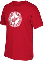 Reebok Men's Detroit Red Wings Slick Pass Tee