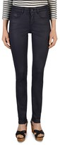 Gerard Darel Pixie Coated Straight-Leg Jeans in Blue