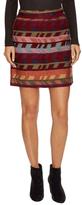 Maje Jacquard Mini Skirt