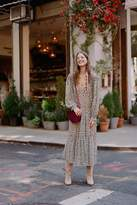 Free People Smocked Shoulder Midi Dress
