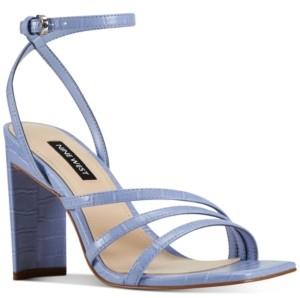 Nine West Zelina Women's Heeled Strappy Sandals Women's Shoes
