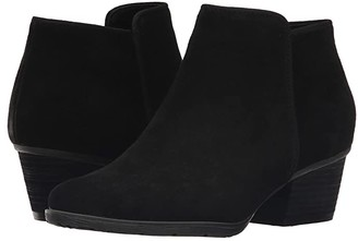 Blondo Villa Waterproof Bootie (Black Suede) Women's Boots