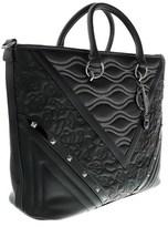 Versace Ee1vobbk2 E899 Black Shoulder Bag.