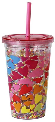 Jewelchic II Hearts Smoothie Cup