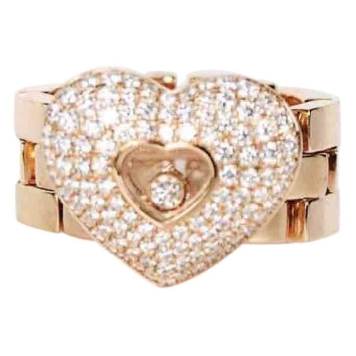 Chopard Happy Diamonds Yellow Yellow gold Ring