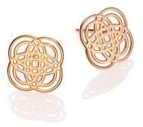 ginette_ny Purity Gold 18K Rose Gold Stud Earrings