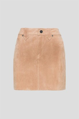 Blank NYC Women's Real Suede Mini Skirt