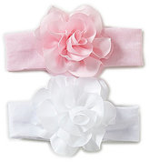 Starting Out Baby Girls 2-Pack Flower Bow Headbands