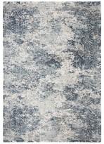Ophelia Bales Cream/Blue Area Rug & Co. Rug Size: Rectangle 4' x 6'