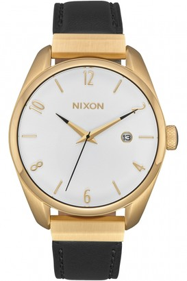 Nixon Ladies The Bullet Leather Luxe Watch A1185-513