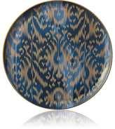 Hermes Voyage En Ikat Large Round Platter