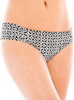 JCPenney STYLUS Stylus Shirred Side-Tab Hipster Swim Bottoms