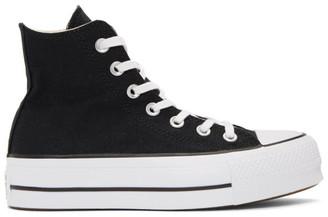 Converse Black Chuck Taylor All Star Lift High Top Platform Sneakers