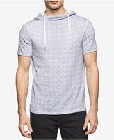 Calvin Klein Men's Slim-Fit Short-Sleeve Cotton Hoodie