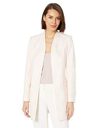 Calvin Klein Women's Open Boucle Jacket