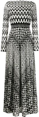Missoni long sleeved dress