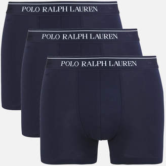Polo Ralph Lauren Men's 3 Pack Trunk Boxer Shorts