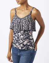 Monsoon Yoshe Print Double Layer Cami