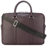 HUGO BOSS logo stamp laptop bag