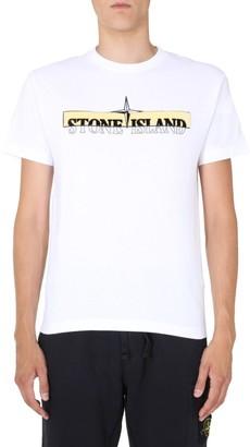 Stone Island Crew Neck T-Shirt
