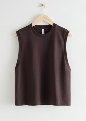 And other stories Organic Cotton Tank Top