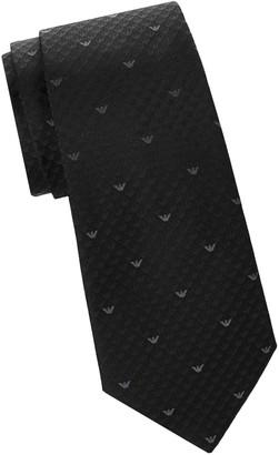 Armani Collezioni Silk Print Tie