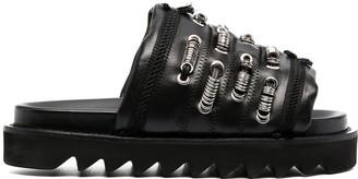 Toga Pulla Ring-Detail Sandals