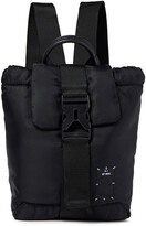 Thumbnail for your product : McQ Icon Zero Leather-trimmed Appliqued Shell Backpack