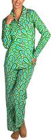 Malabar Bay Aqua Annabelle Organic Cotton Pajama Set